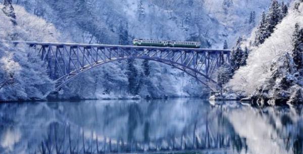 Zima dokáže vytvořit neskutečně krásné scenérie